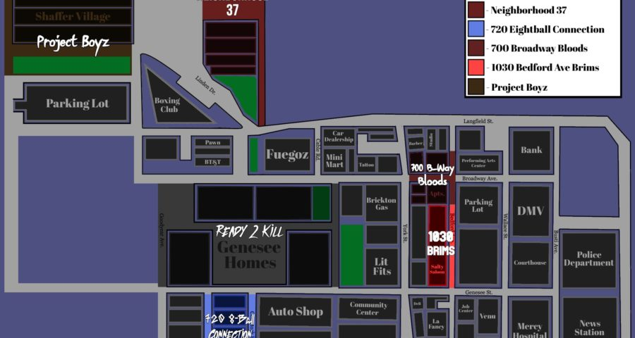 East Brickton Map Created by Discord Community